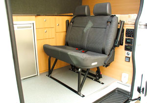 Custom fit out of motorhome