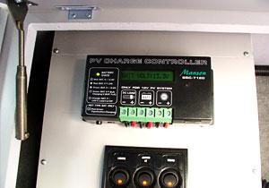 Solar Panel control board