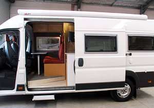 external view of Motor home conversion